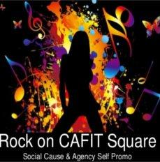 Rock on CAFIT Square